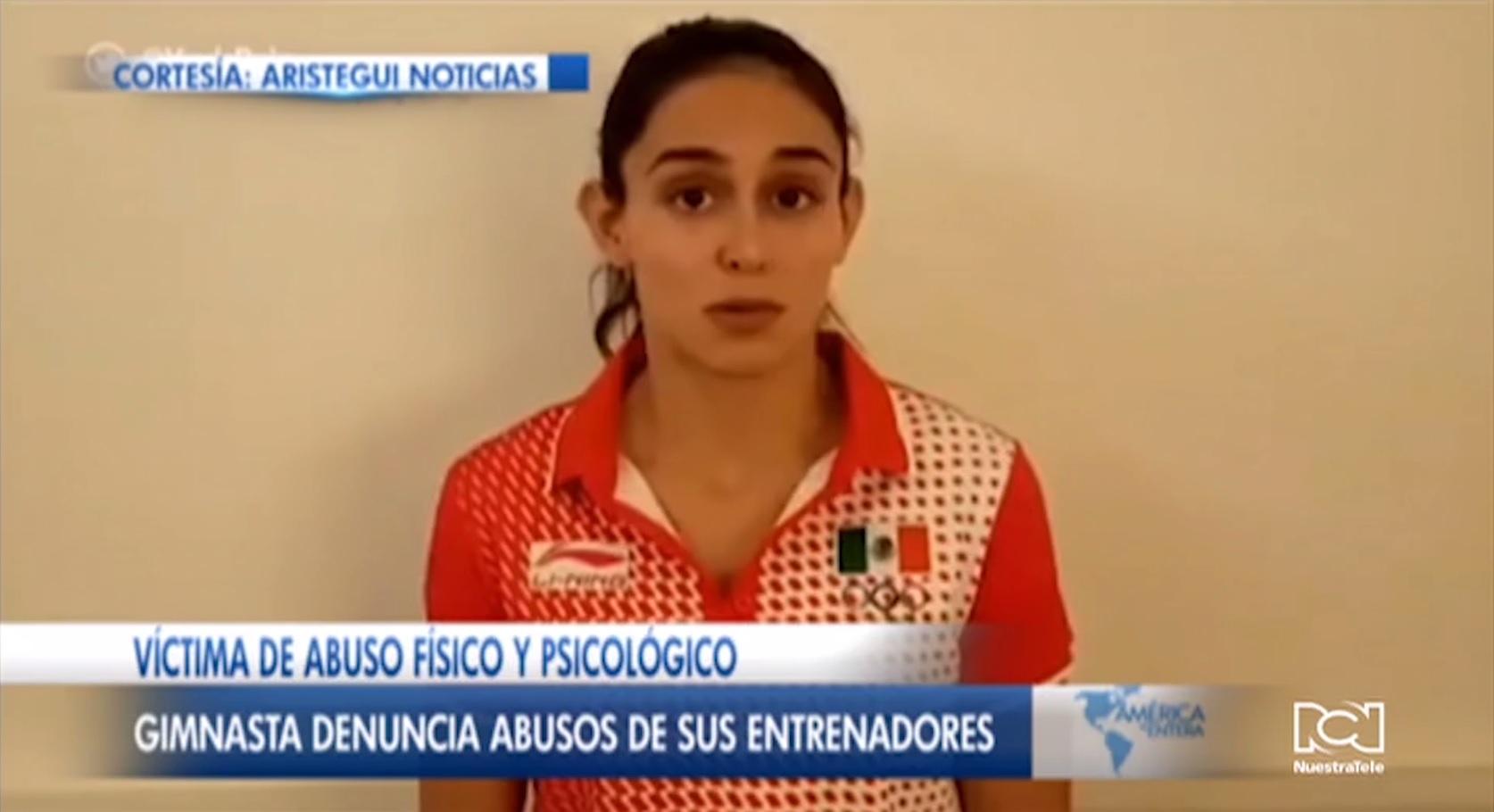Gimnasta Elsa García denunció agresiones de sus entrenadores