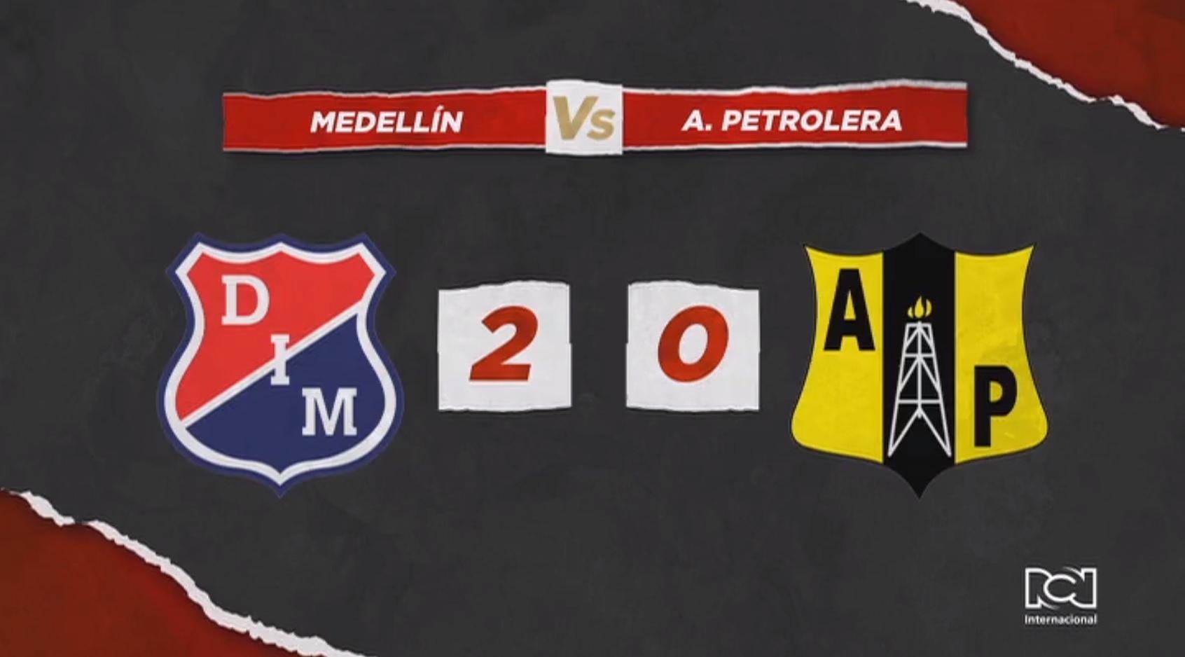 Independiente Medellin le ganó a Alianza Petrolera y sueña con la clasificación
