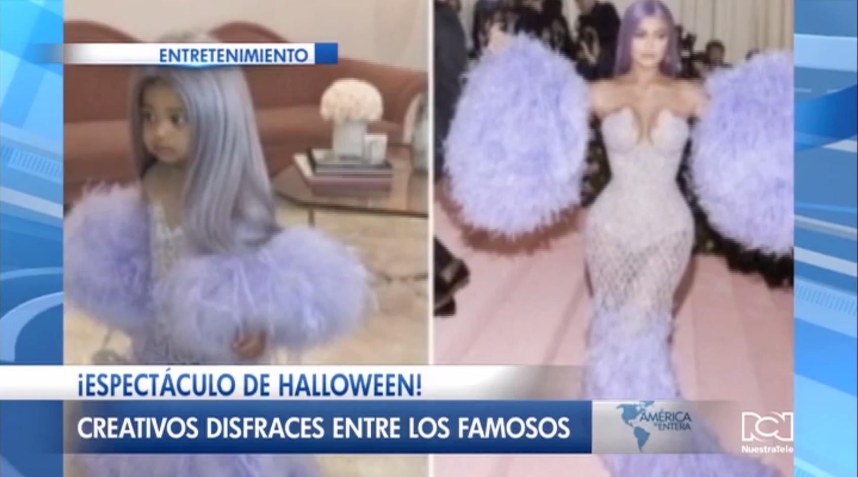 Celebridades de Hollywood presentaron un adelanto de los disfraces que lucirán en Halloween
