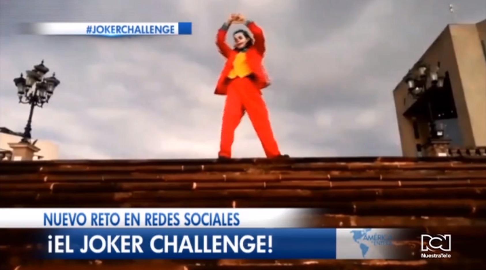 ¡El Joker Challenge! El nuevo reto viral que se impone en redes sociales