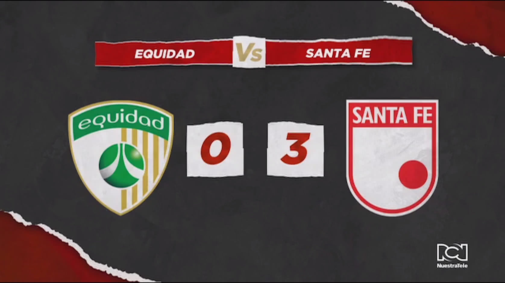 La Equidad Vs Santa Fe