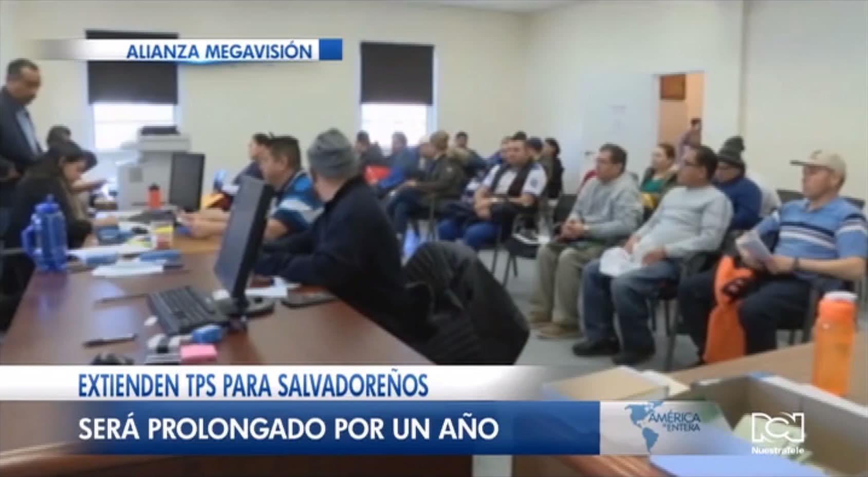 Estados Unidos extiende por un año más el beneficio del TPS para salvadoreños