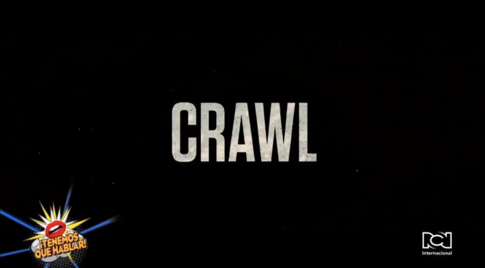 Formatos caseros de 'Crawl' estarán disponibles desde este 15 de octubre