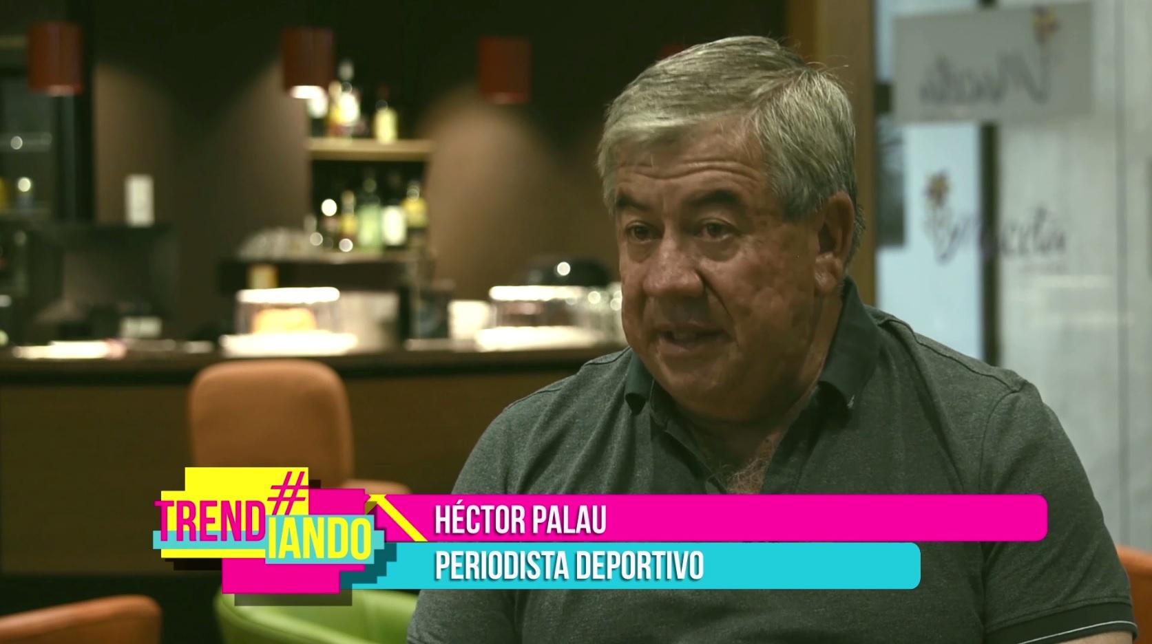 Héctor Palau le pedaleó desde niño al sueño de ser periodista deportivo