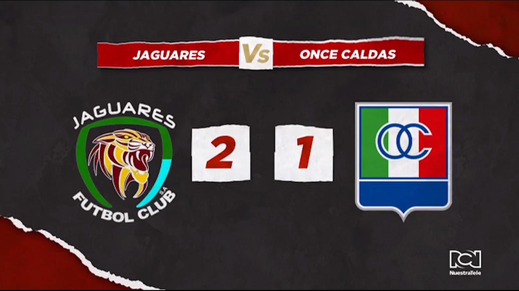 Jaguares Vs Once Caldas