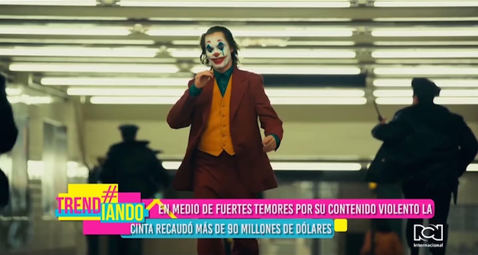 'Joker' rompe récord de taquilla durante su primer fin de semana en salas de cine de Estados Unidos