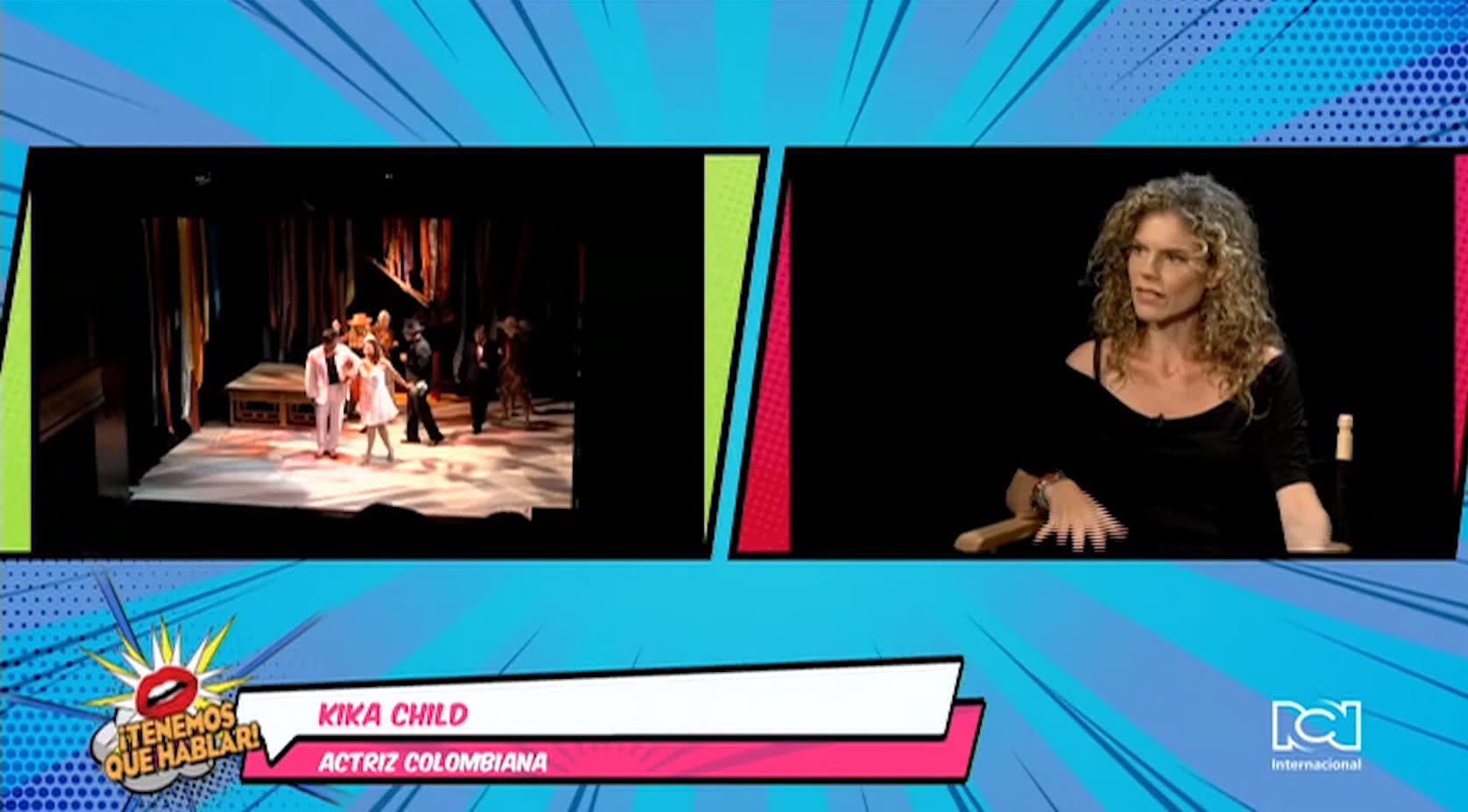 Colombiana Kika Child interpreta a 'Doña Guisa' en la obra 'Doña Flor y sus dos maridos'
