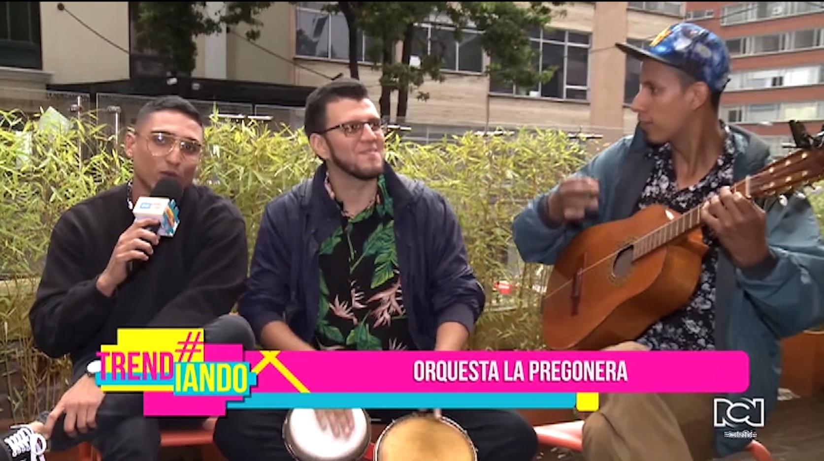 La Pregonera Orquesta lanzó su nuevo sencillo 'Un, dos por tres'