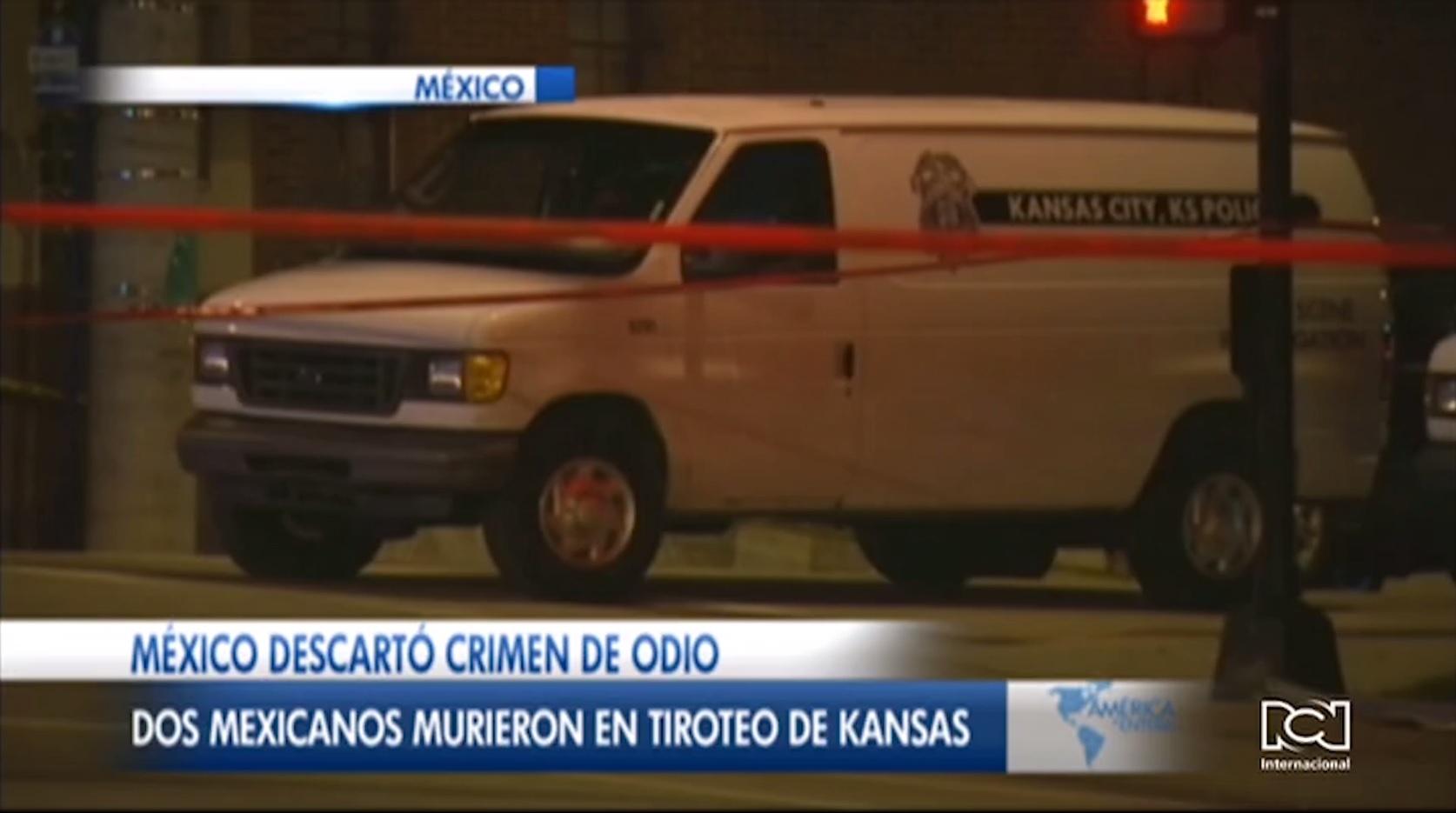 México descarta crimen de odio en tiroteo en el que murieron dos mexicanos en Kansas