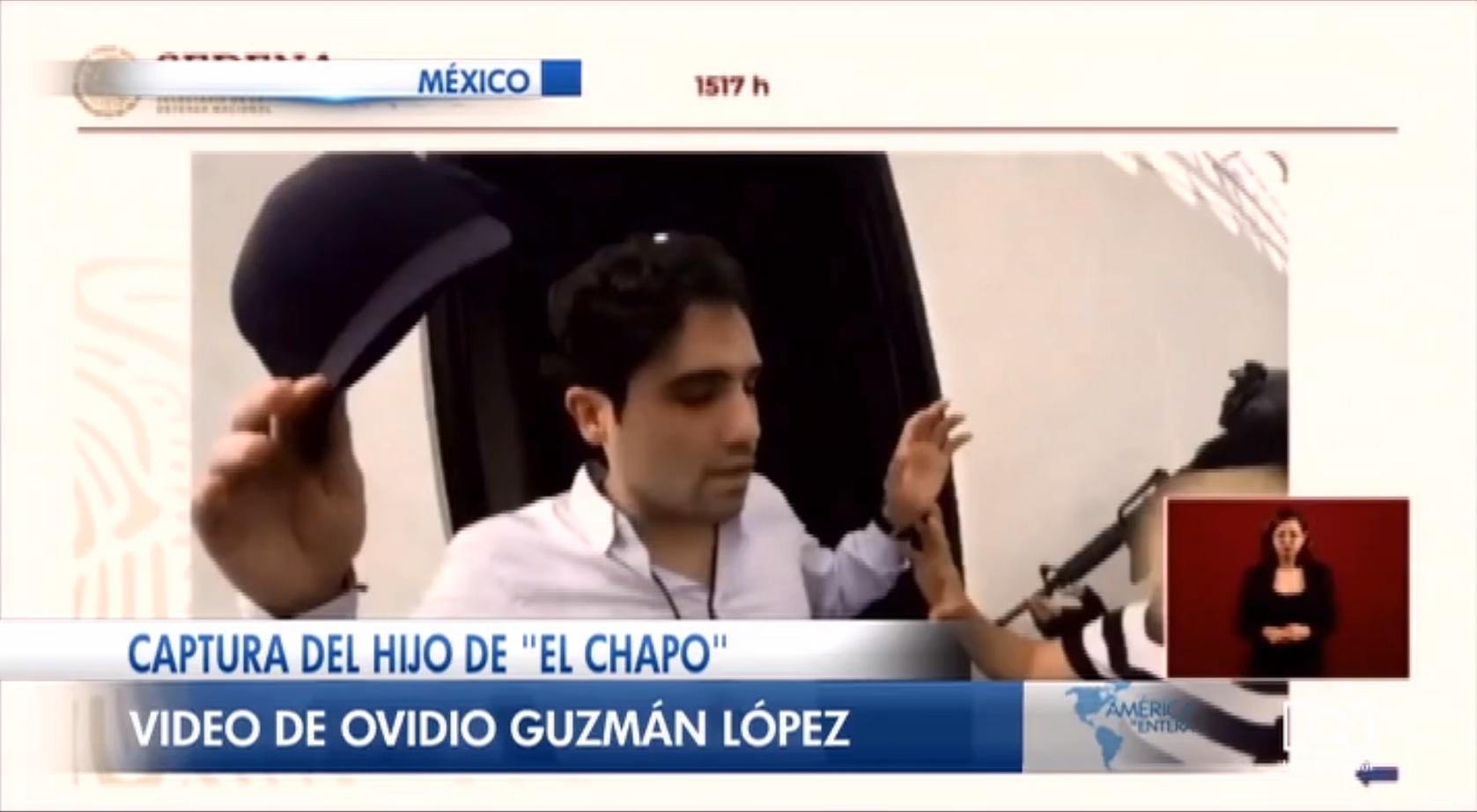 Gobierno de México presenta imágenes inéditas del operativo contra el hijo de 'El Chapo' Guzmán