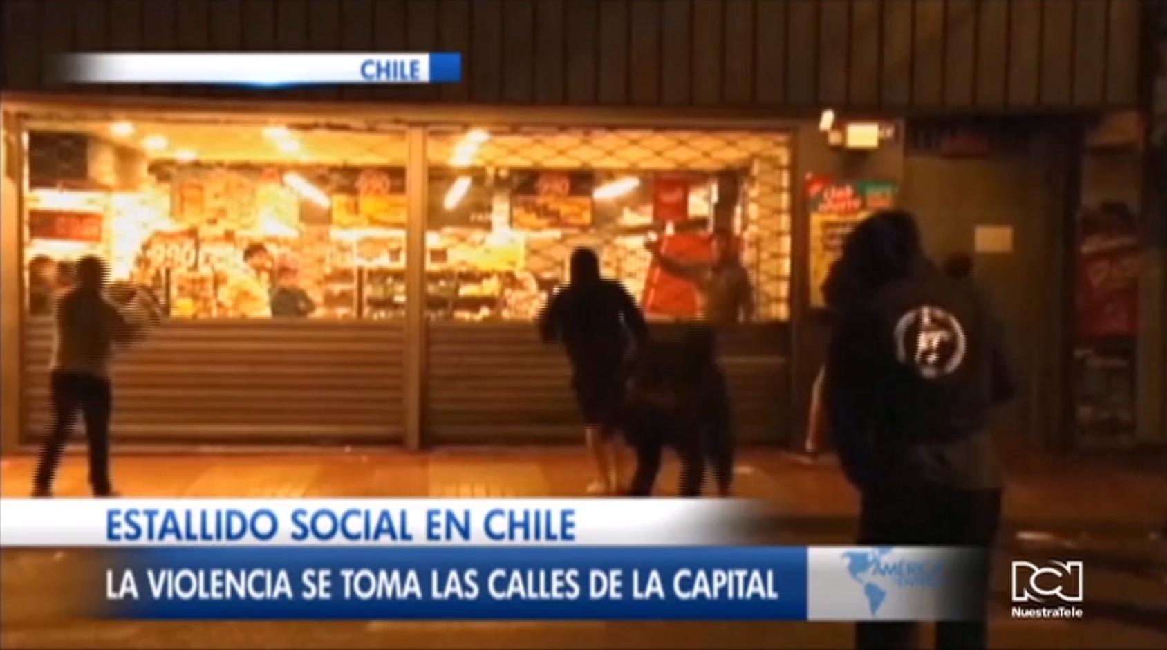 Elevan a 10 el número de muertos durante las protestas en Chile
