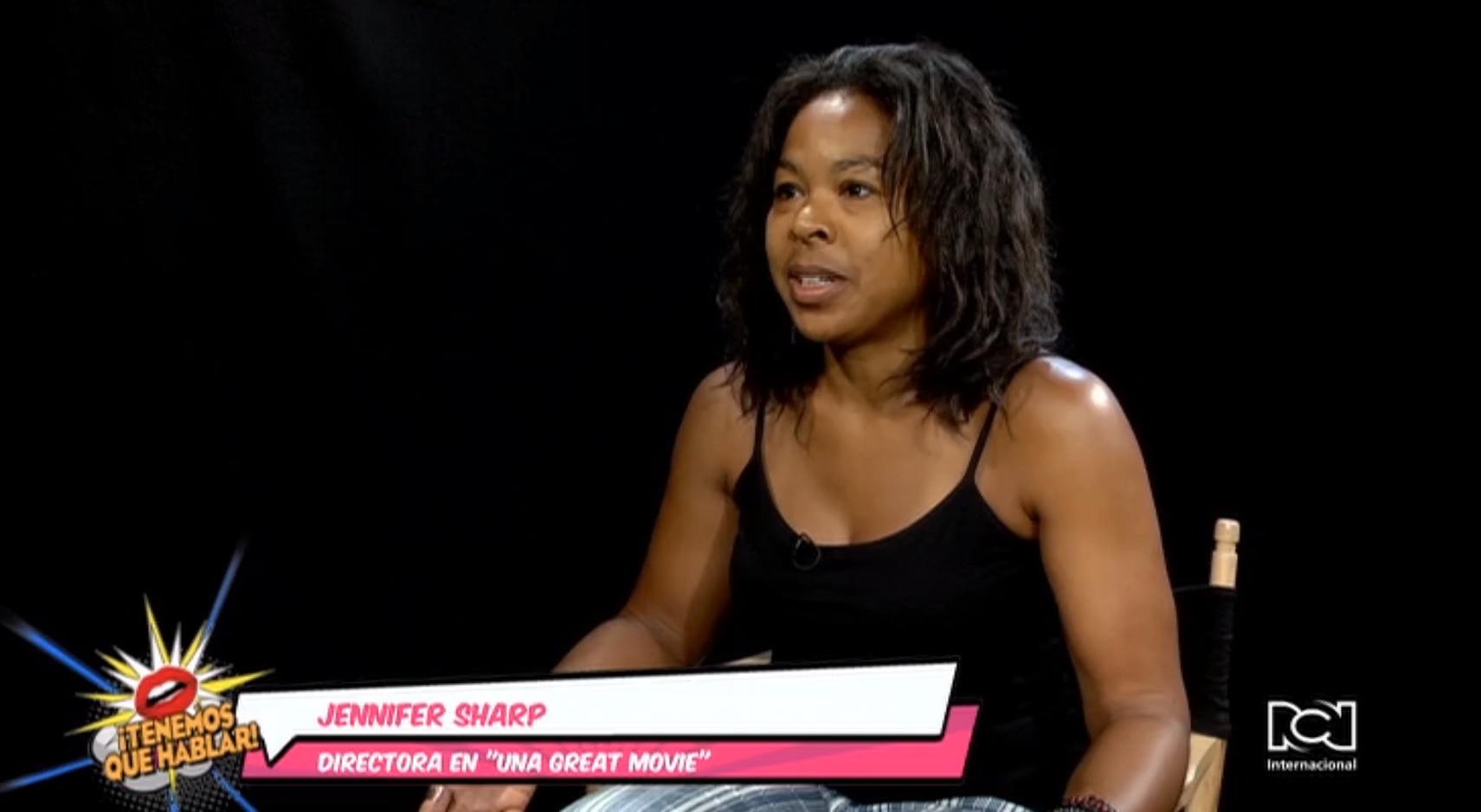 Jennifer Sharp reveló los sacrificios que hizo para realizar el filme 'Una gran movie'
