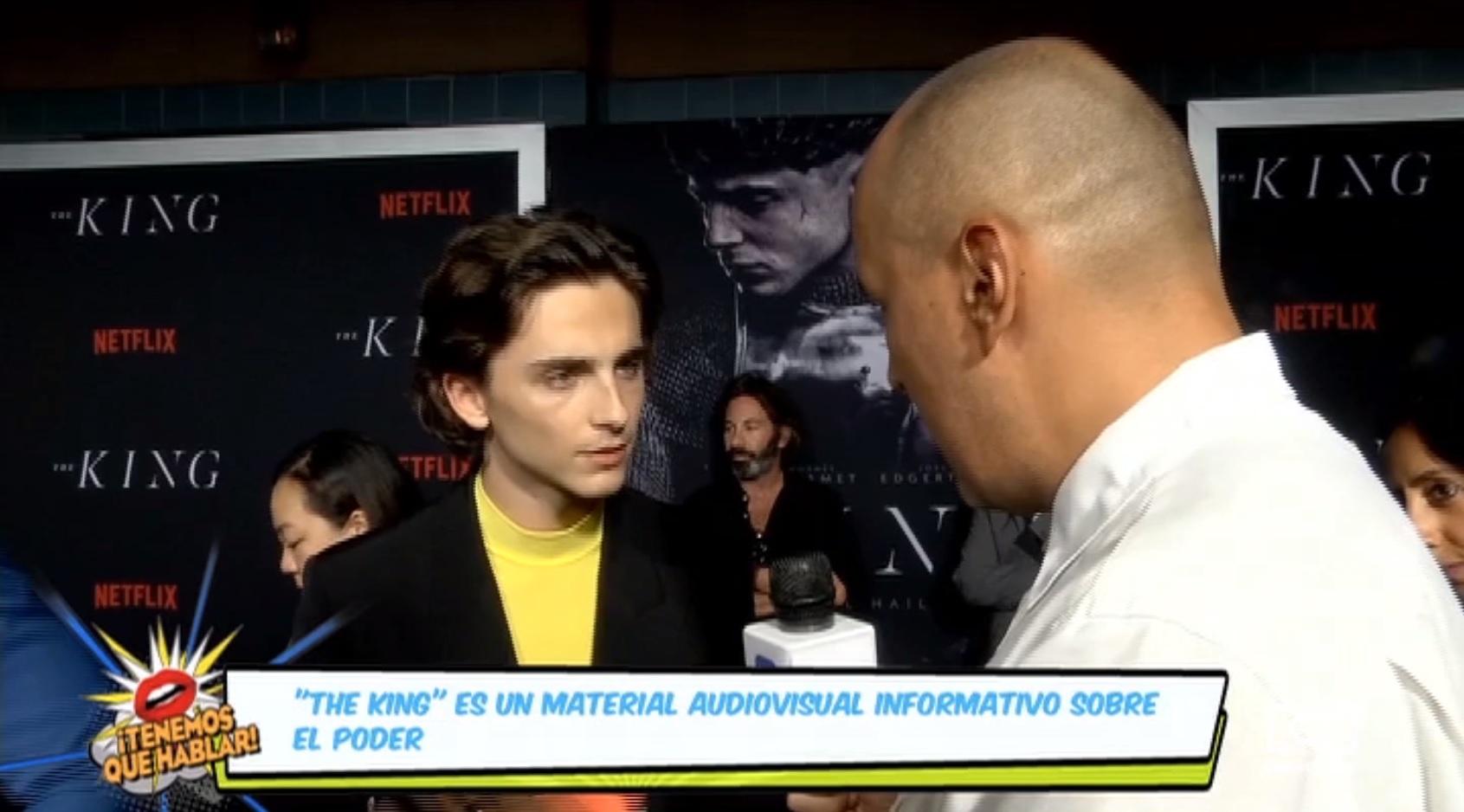 'The King', el nuevo proyecto de Timothée Chalamet, ingresará al catalogó de Netflix