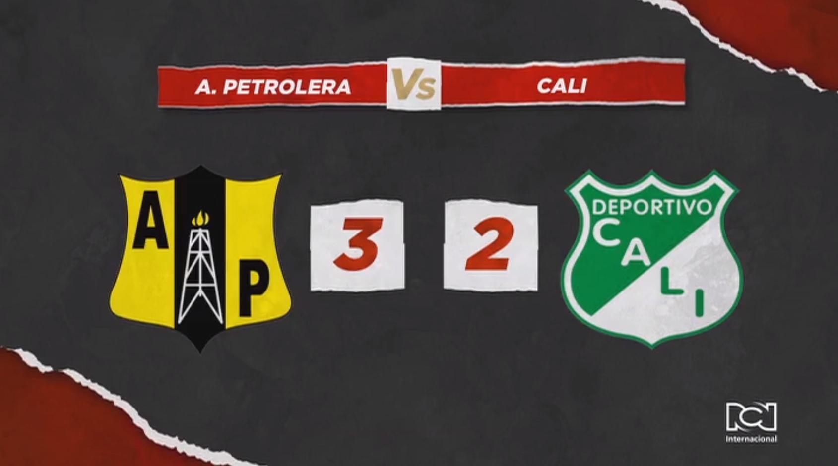 Alianza Petrolera derrotó al Deportivo Cali con un polémico arbitraje de John Hinestroza