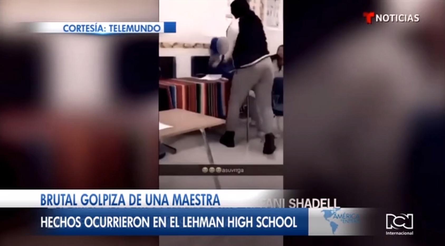 Brutal golpiza de una maestra en Texas