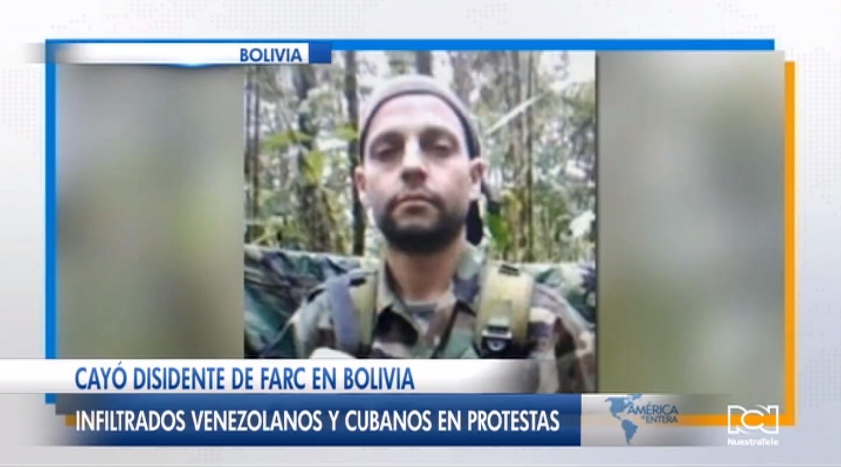 Capturan a disidente de las FARC en Bolivia