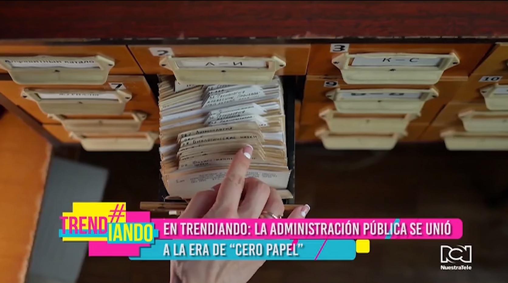 Lo más trending es la administración pública en Colombia