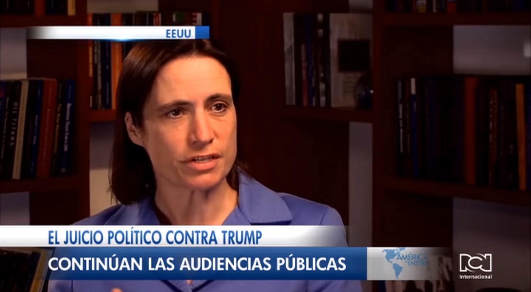 Fiona Hill declaró en juicio político contra Trump