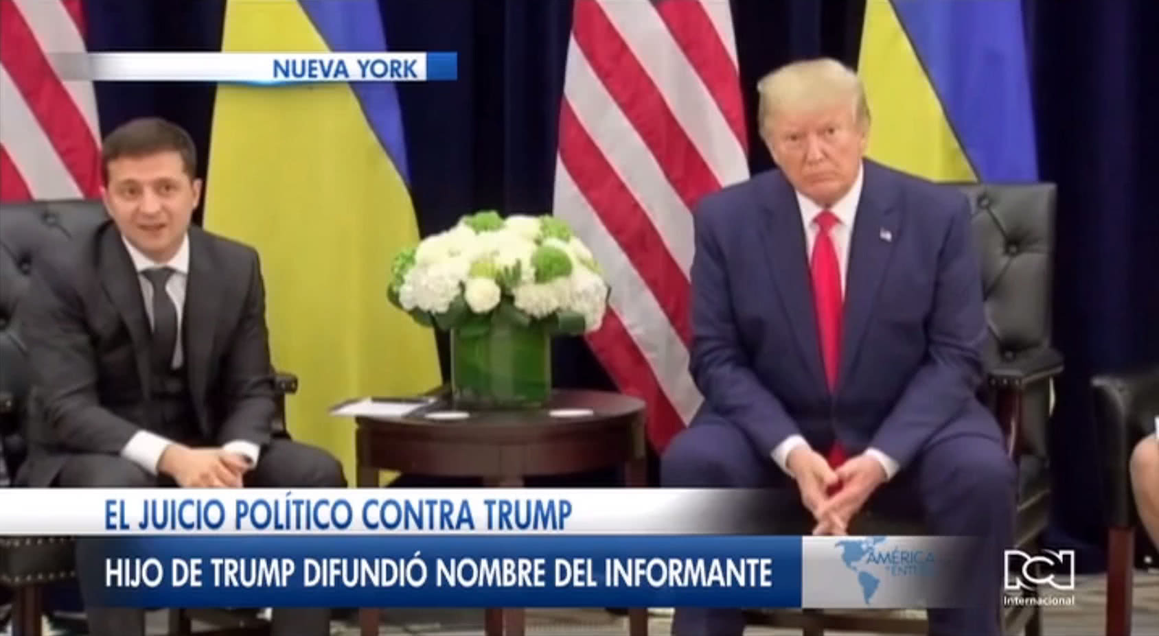 Donald Trump Jr. reveló supuesta identidad del informante del 'Ucrania Gate'