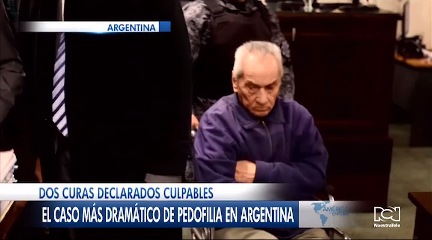 Condenan a sacerdotes pederastas en Argentina