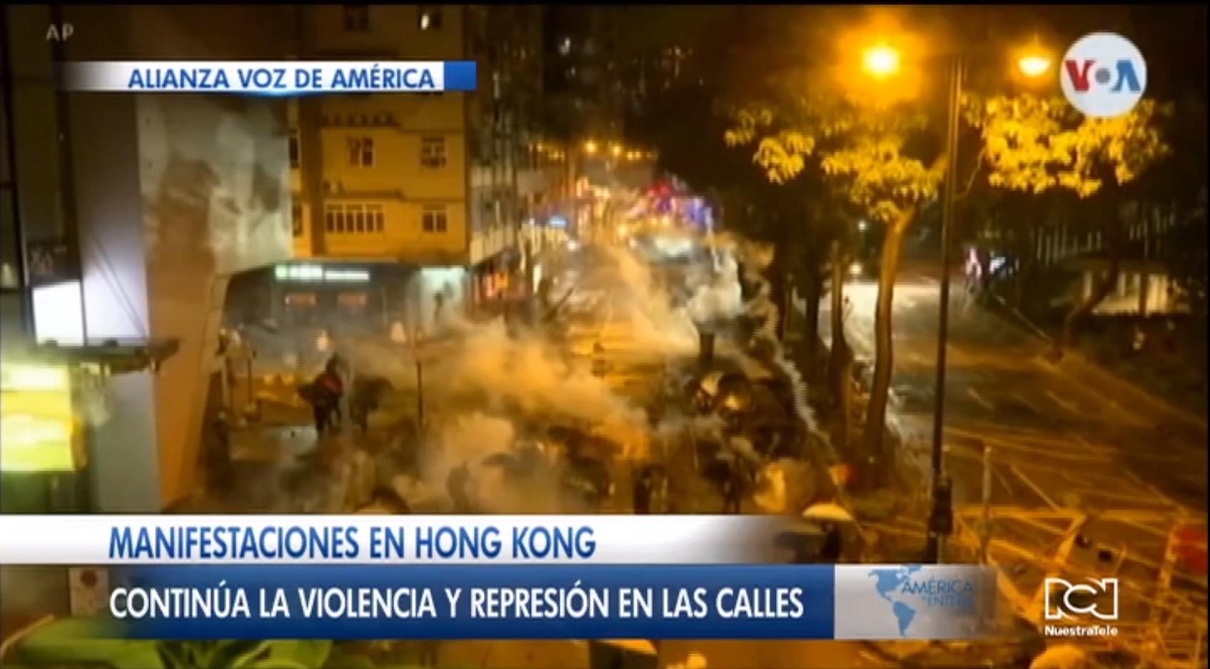 Marco Rubio le pide a China que se abstenga de una posible intervención en Hong Kong
