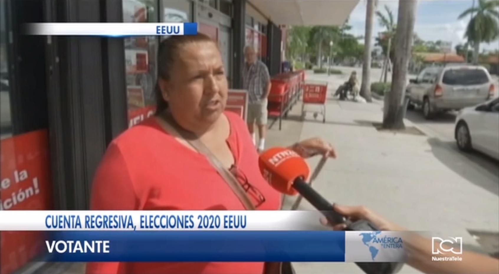Papel de los latinos en las elecciones del 2020
