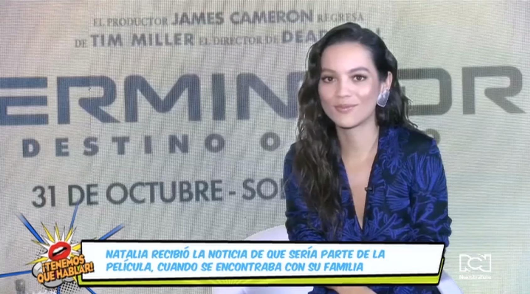 Natalia Reyes contó cómo fue el proceso para llegar a ser Dani Ramos en 'Terminator Dark Fate'