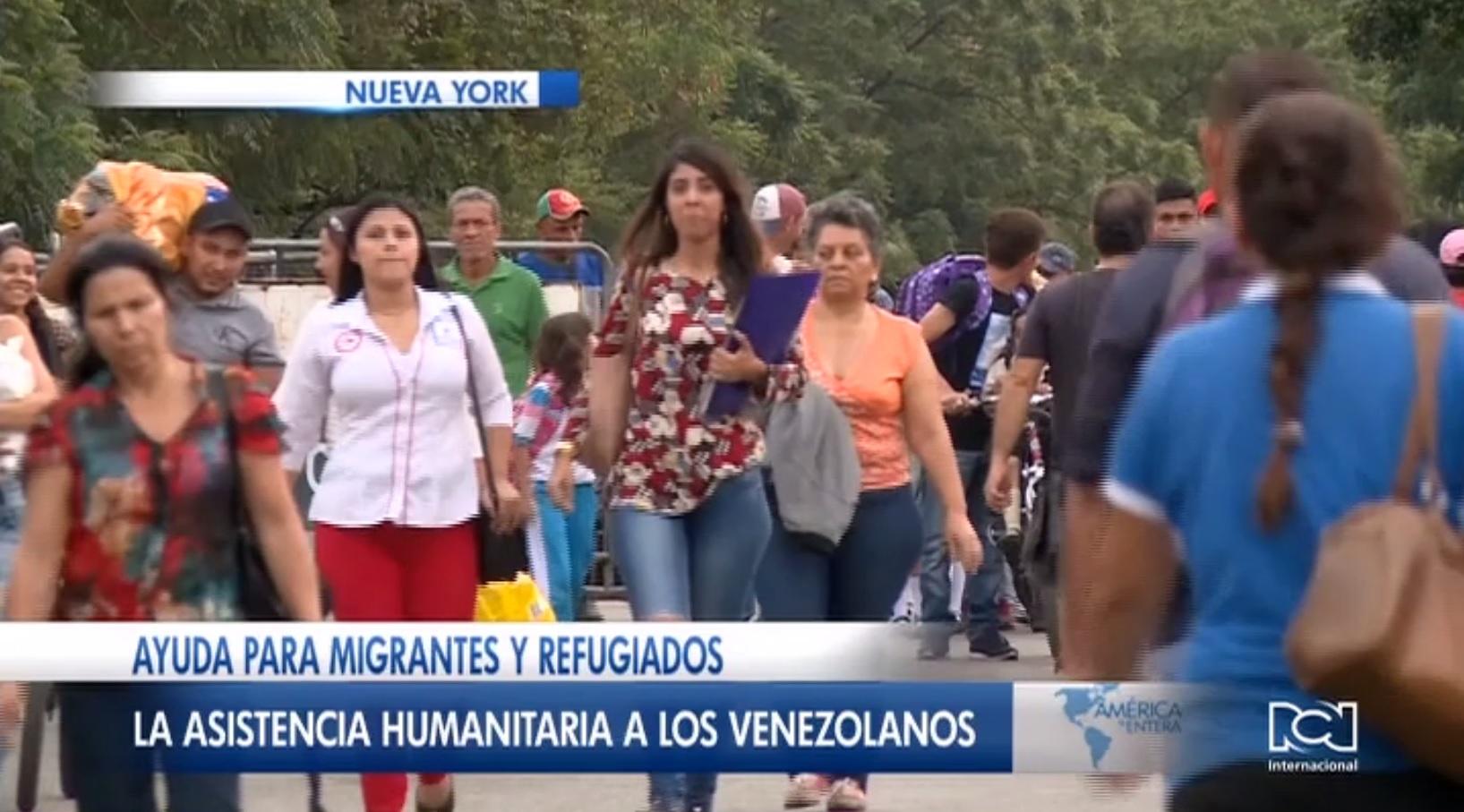 ONU actualizó cifra de recursos necesarios para atender a los migrantes venezolanos