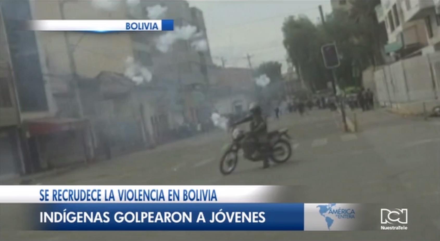 Se recrudece la violencia en Bolivia