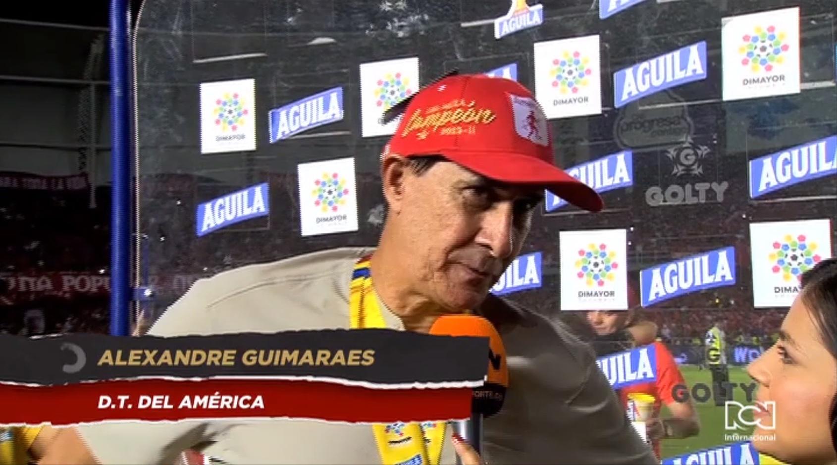 Alexandre Guimaraes es el primer brasileño en sacar campeón de Liga al América de Cali