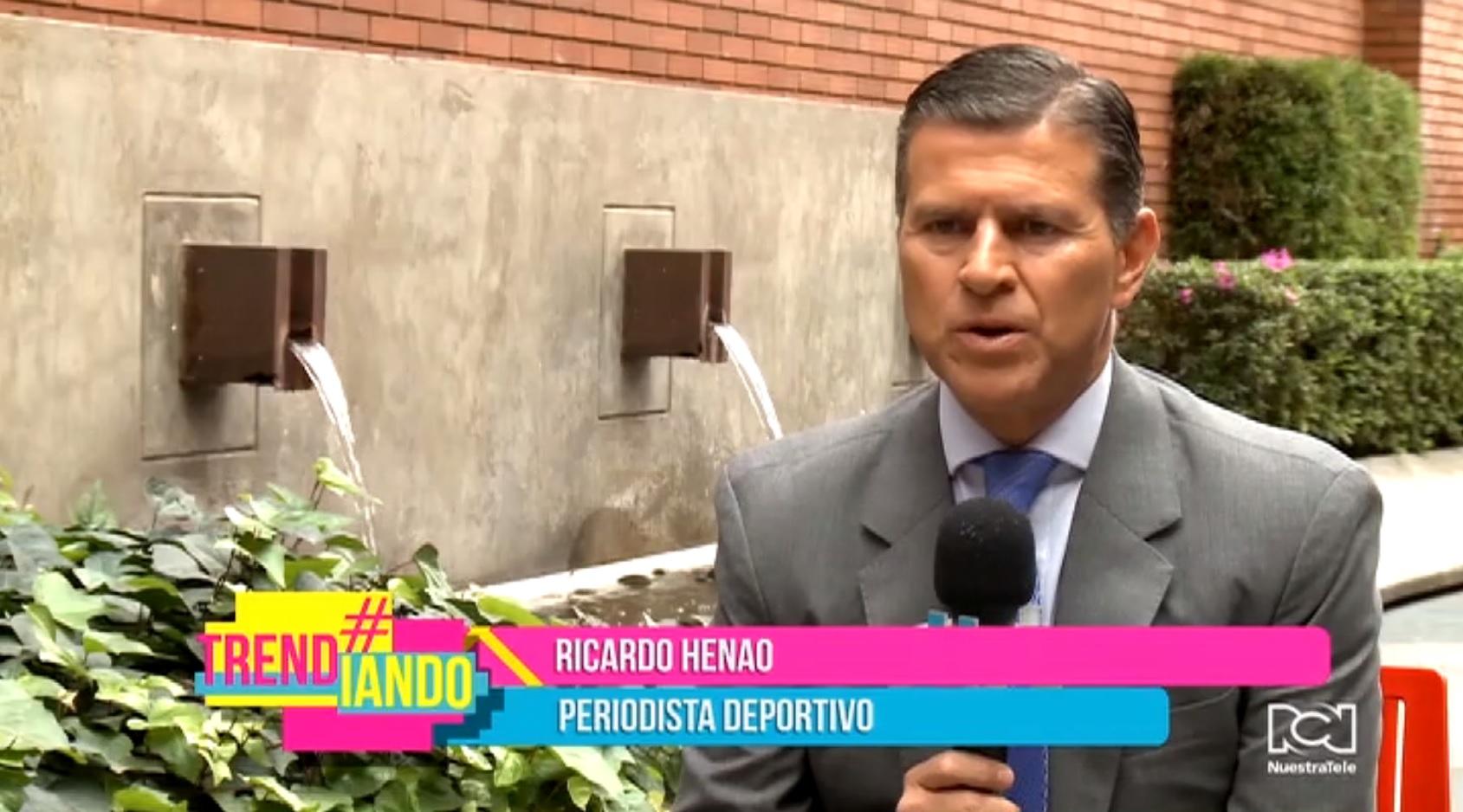 Ricardo Henao contó cómo logró hacer realidad su sueño de ser periodista deportivo