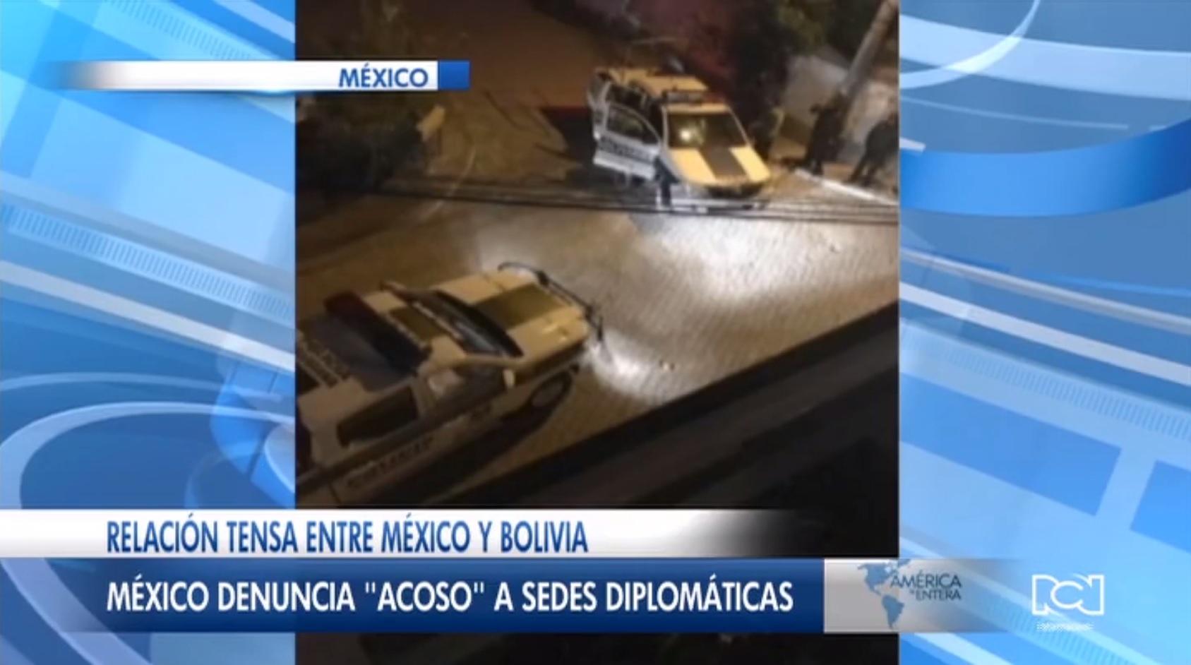 Cancillería de México volvió a denunciar acoso a sus sedes diplomáticas en Bolivia