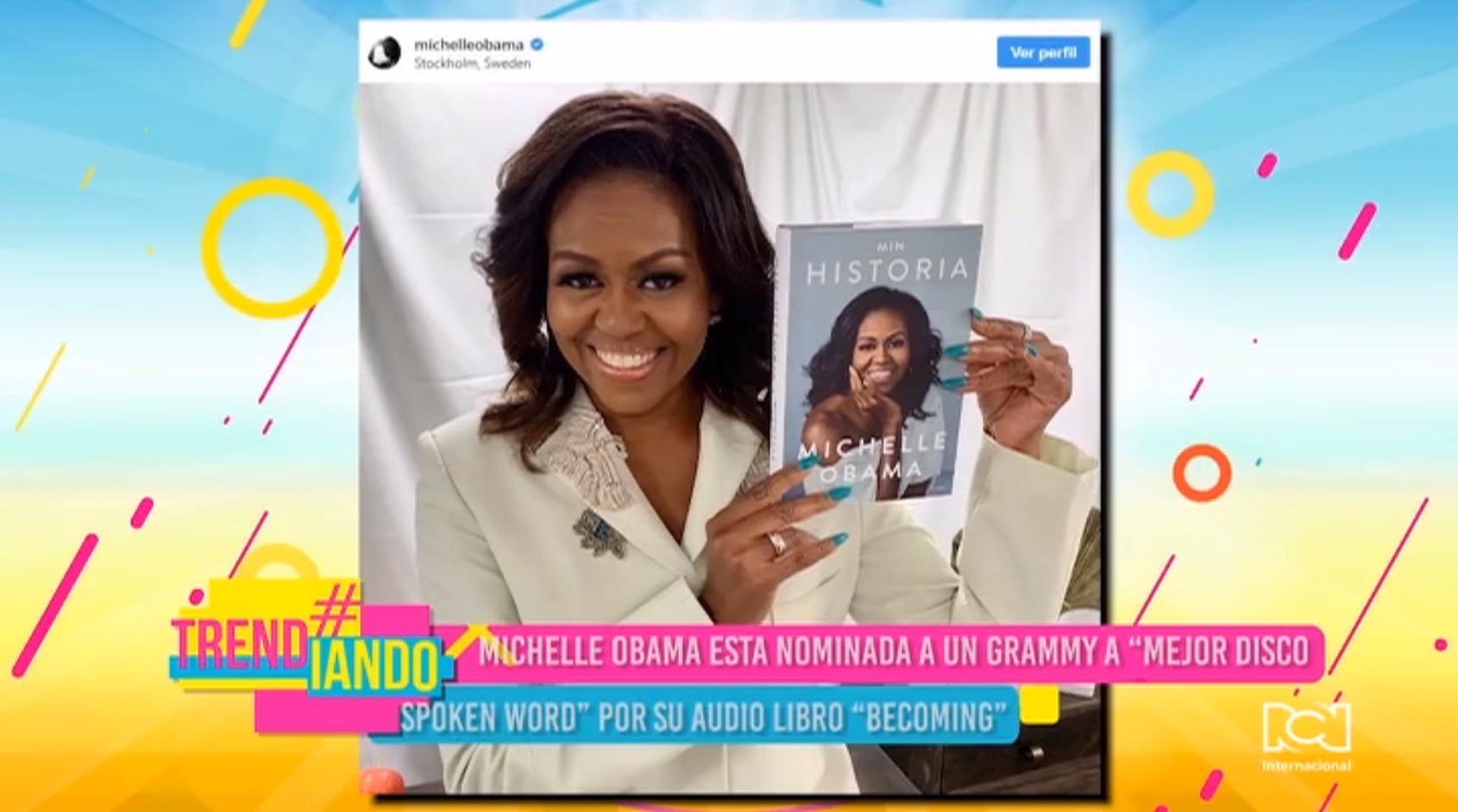 Michelle Obama y Ellen Degeneres nominadas al Grammy