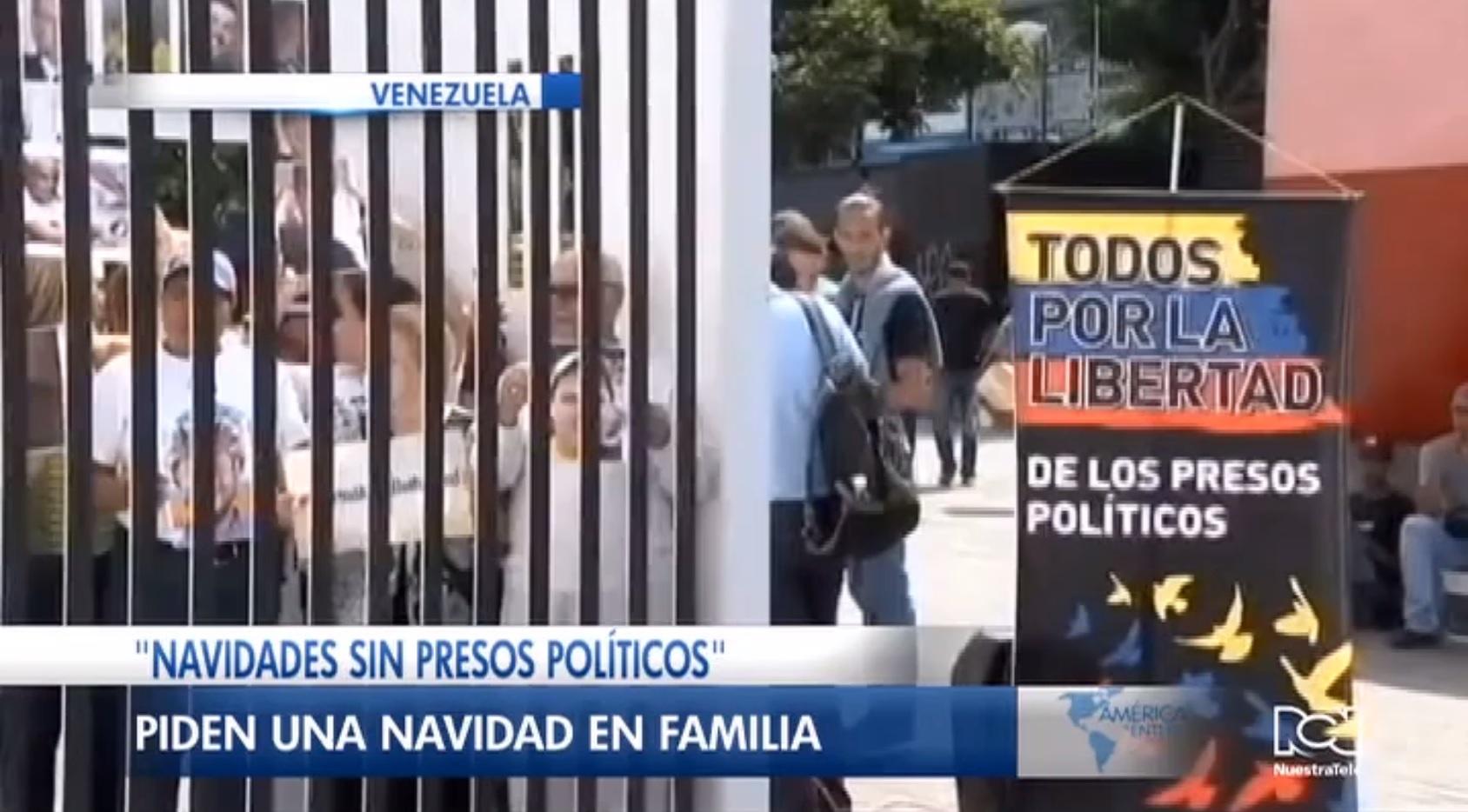 Foro Penal Venezolano impulsa campaña 'Navidades sin presos políticos'