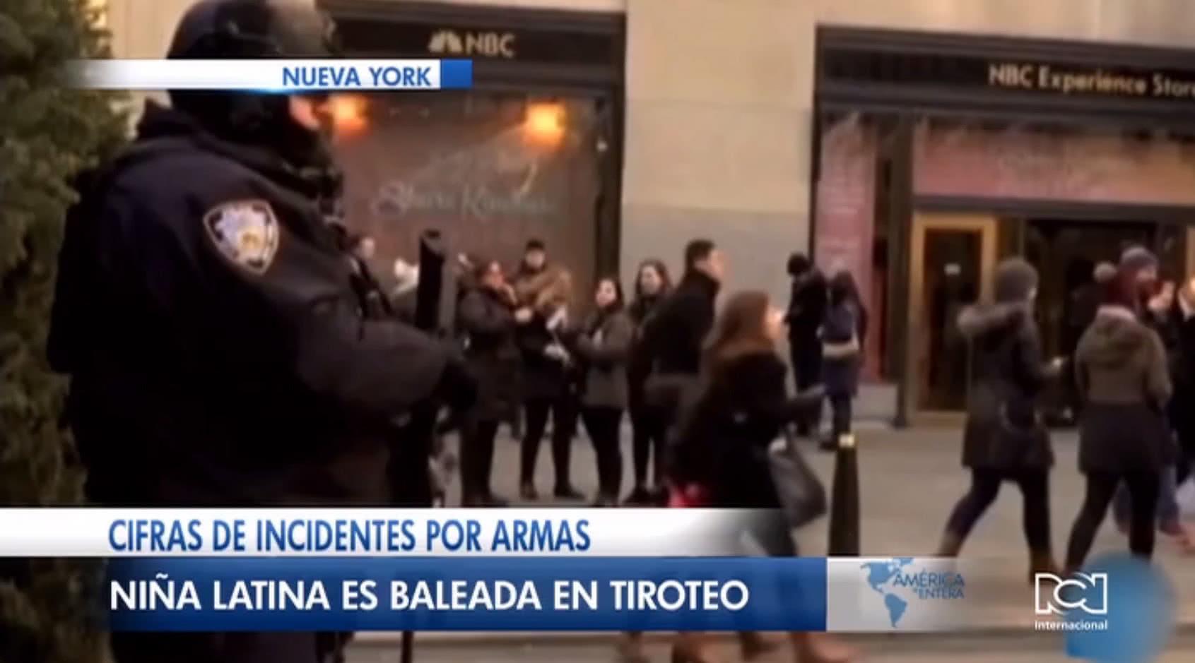 Niña hispana fue baleada durante la madrugada de Noche Buena en Chicago