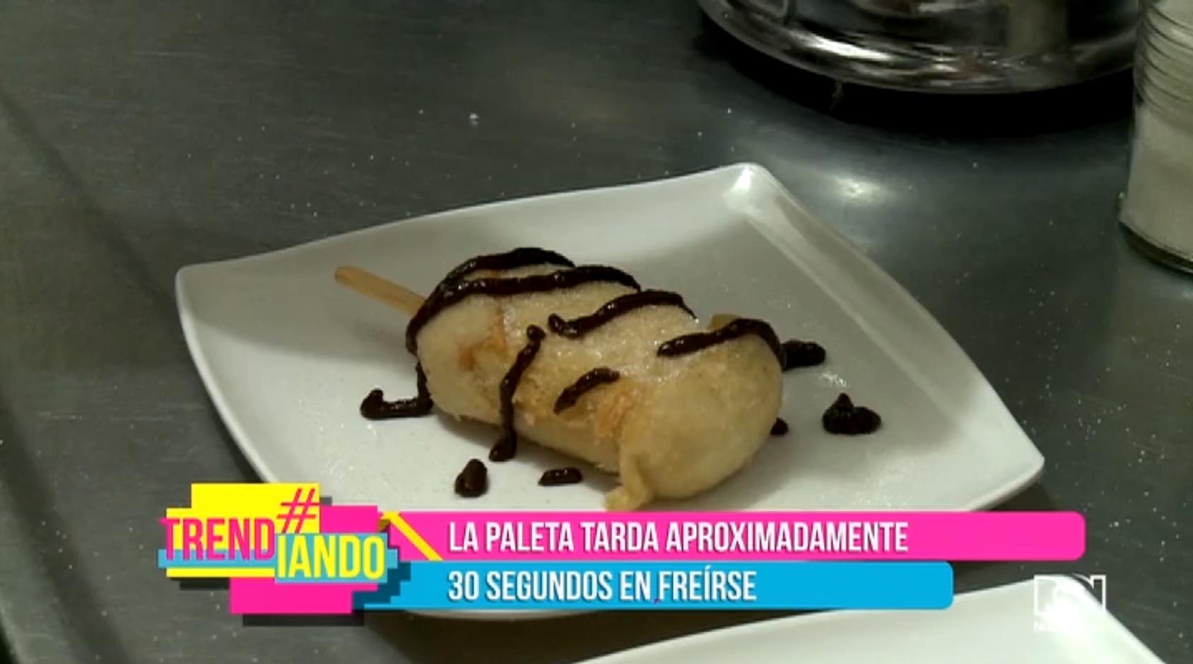 Mecatiando con Trendiando: 'Paleta frita' en 'Del Frutas'