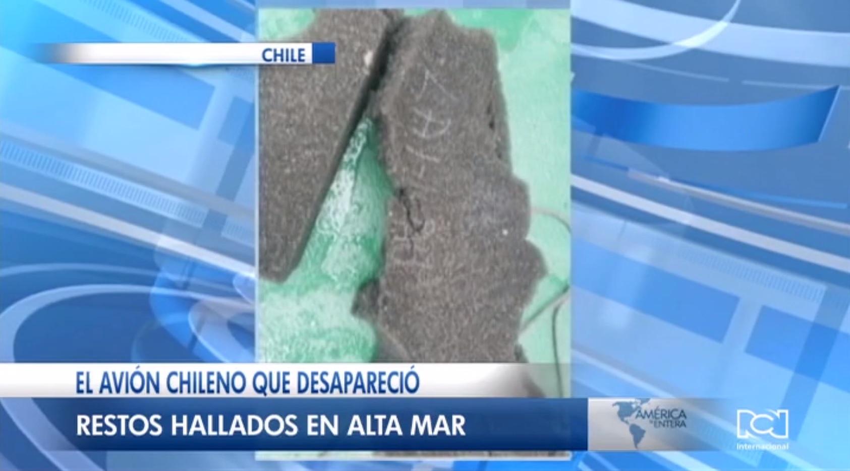 Investigan si restos hallados en altamar pertenecen al avión militar chileno reportado como desaparecido