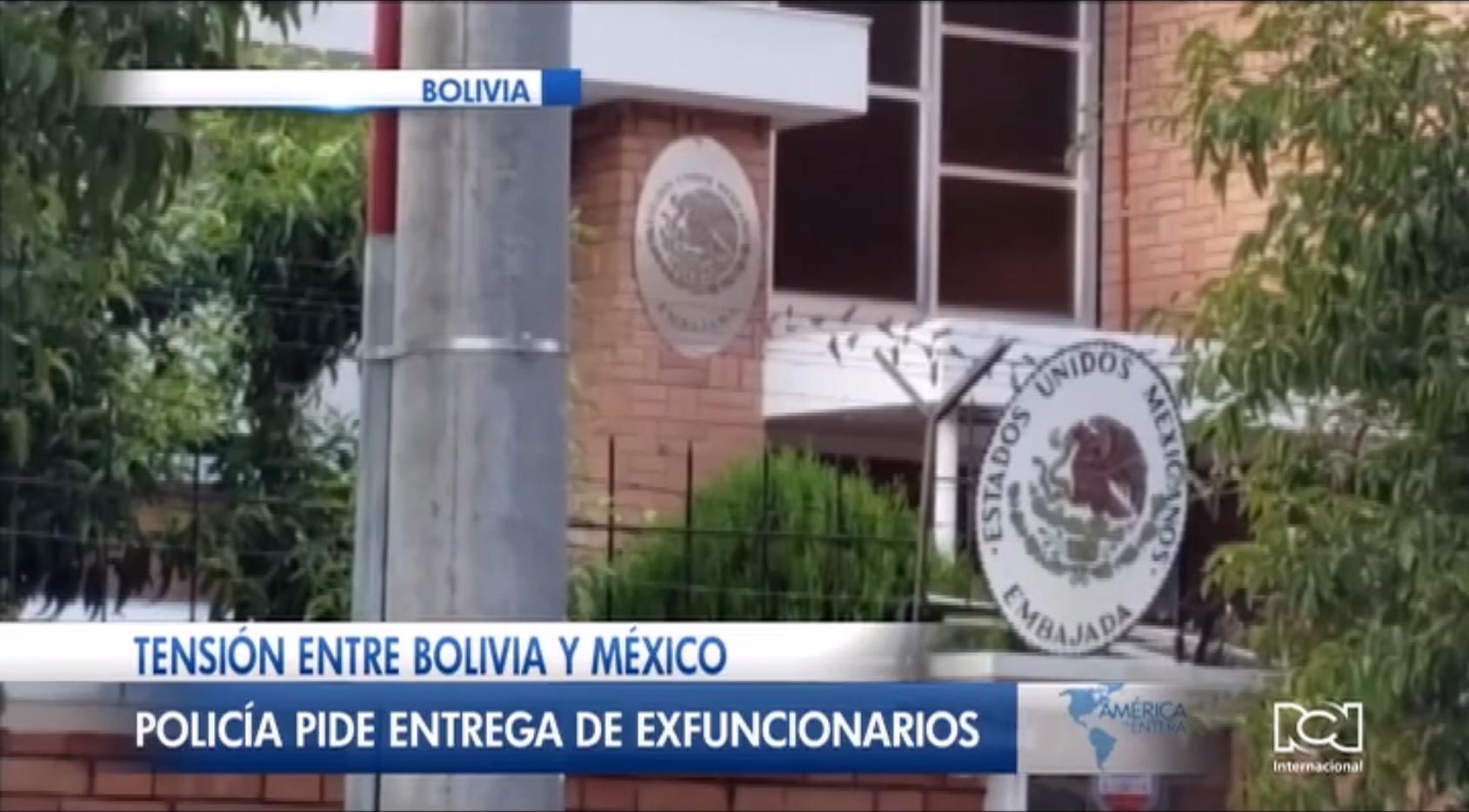 Bolivia exige la entrega de exfuncionarios del Gobierno de Evo Morales refugiados en la embajada de México en La Paz