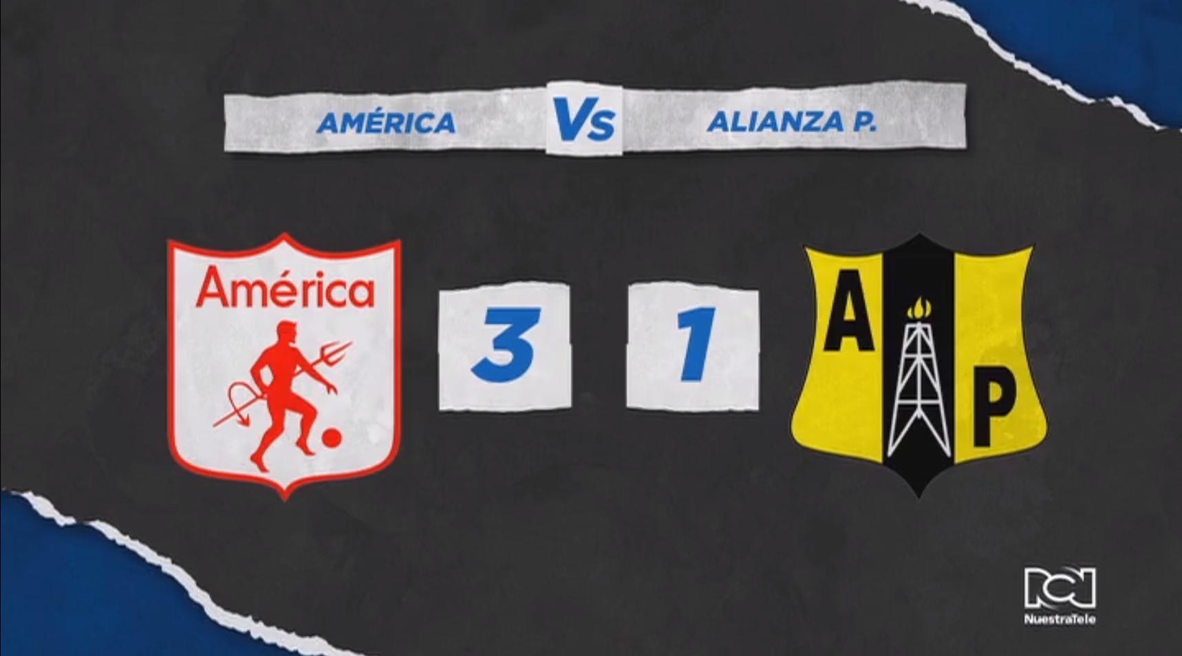 América inició con pie derecho la Liga BetPlay Dimayor con triunfo ante Alianza Petrolera