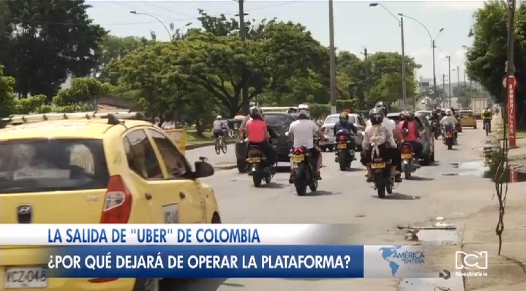 Colombia debatirá la regulación de plataformas de transporte