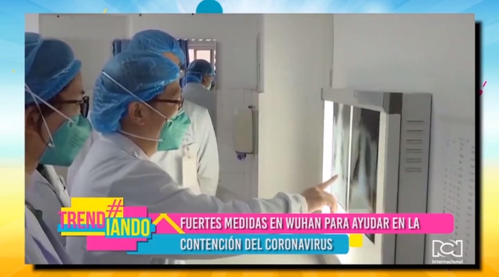 China adopta fuertes medidas en Wuhan para evitar la propagación del coronavirus