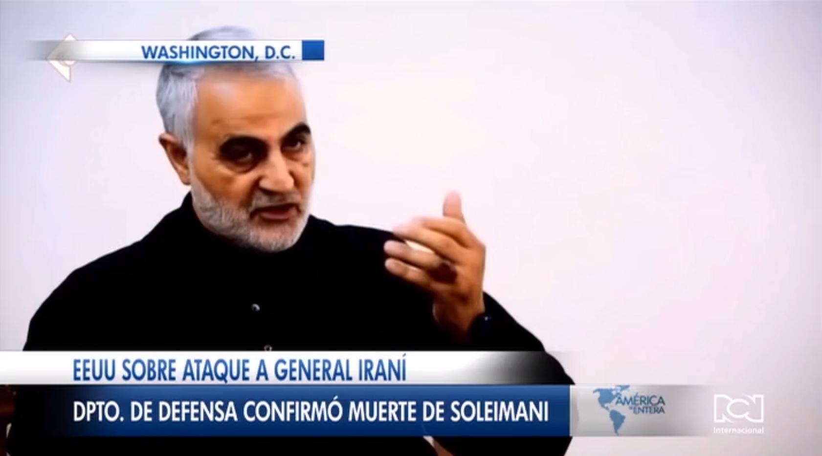 Estados Unidos confirmó la muerte del comandante de la Guardia Revolucionaria de Irán Qasem Soleimani