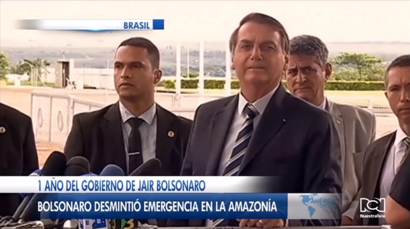 Política ambiental de Jair Bolsonaro opacó su gestión durante su primer año de Gobierno