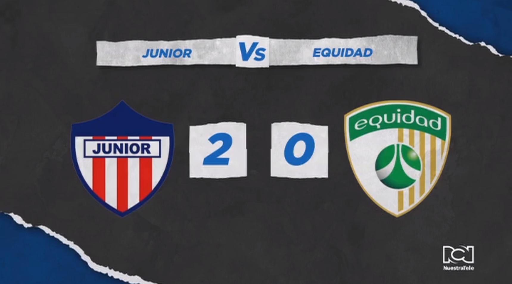 Junior defendió su localía y venció a La Equidad en la primera fecha de la Liga BetPlay Dimayor