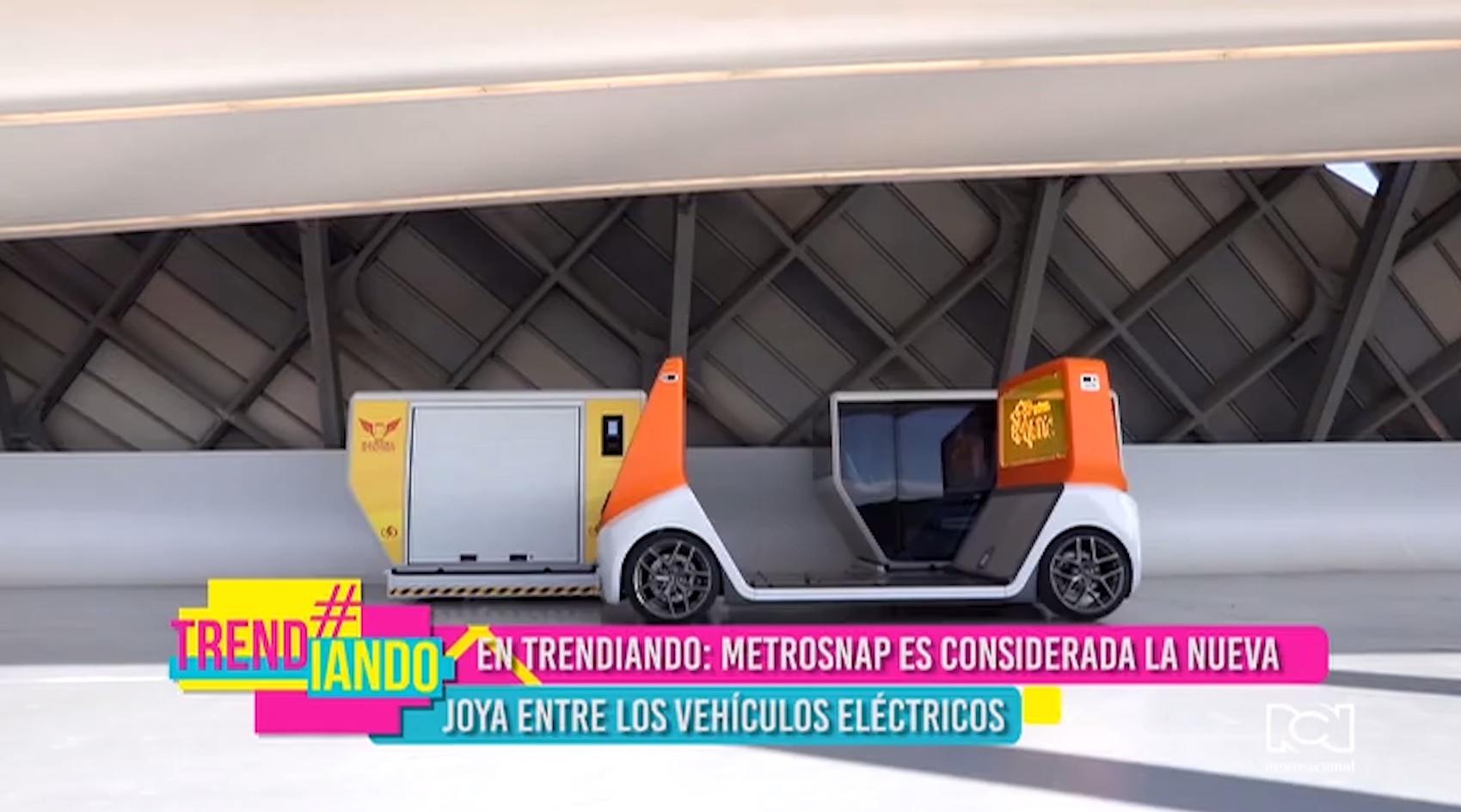 MetroSnap es considerada la nueva joya entre los vehículos electrónicos multiuso