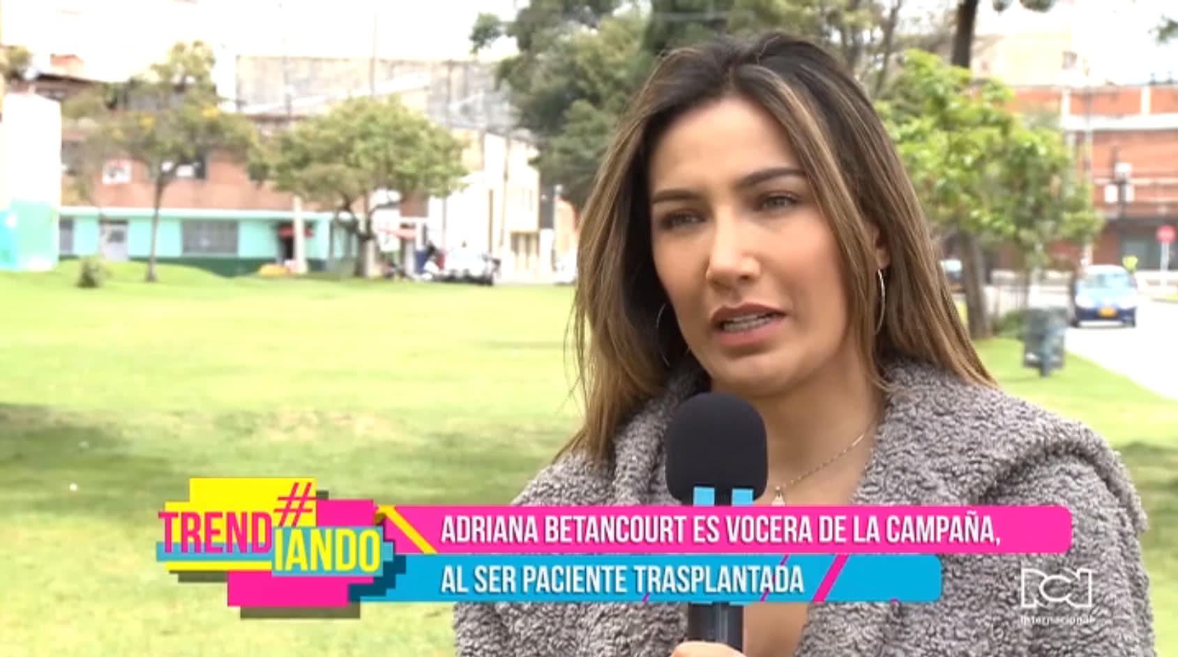 Adriana Betancourt busca crear conciencia sobre la donación de órganos en Colombia con la campaña 'Somos Uno'