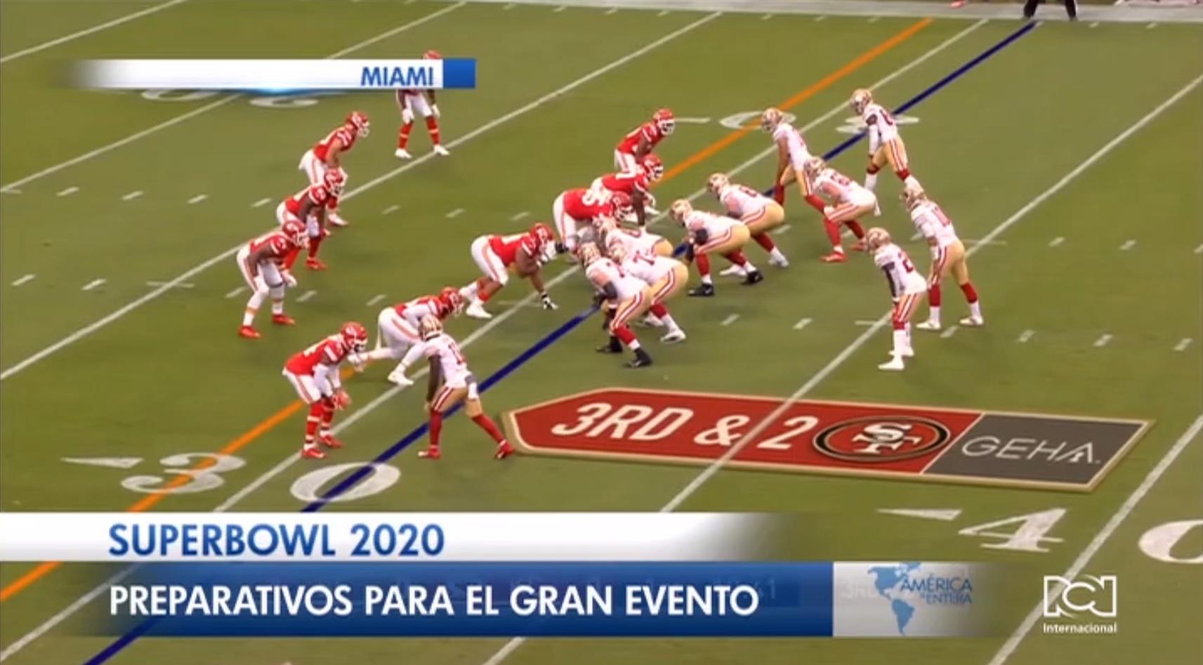 Miami respira ambiente de fiesta en la antesala del Super Bowl 2020