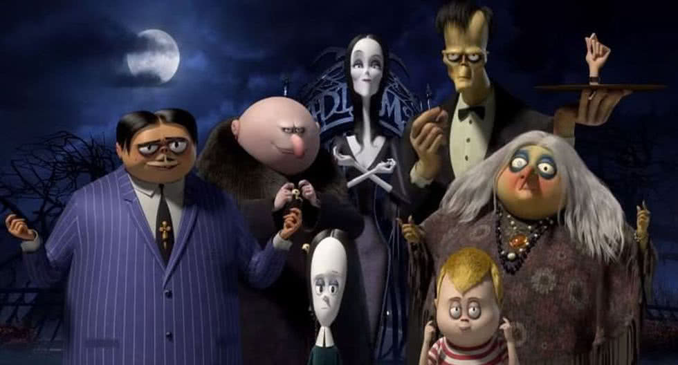 'The Addams Family' ya está disponible en formatos caseros