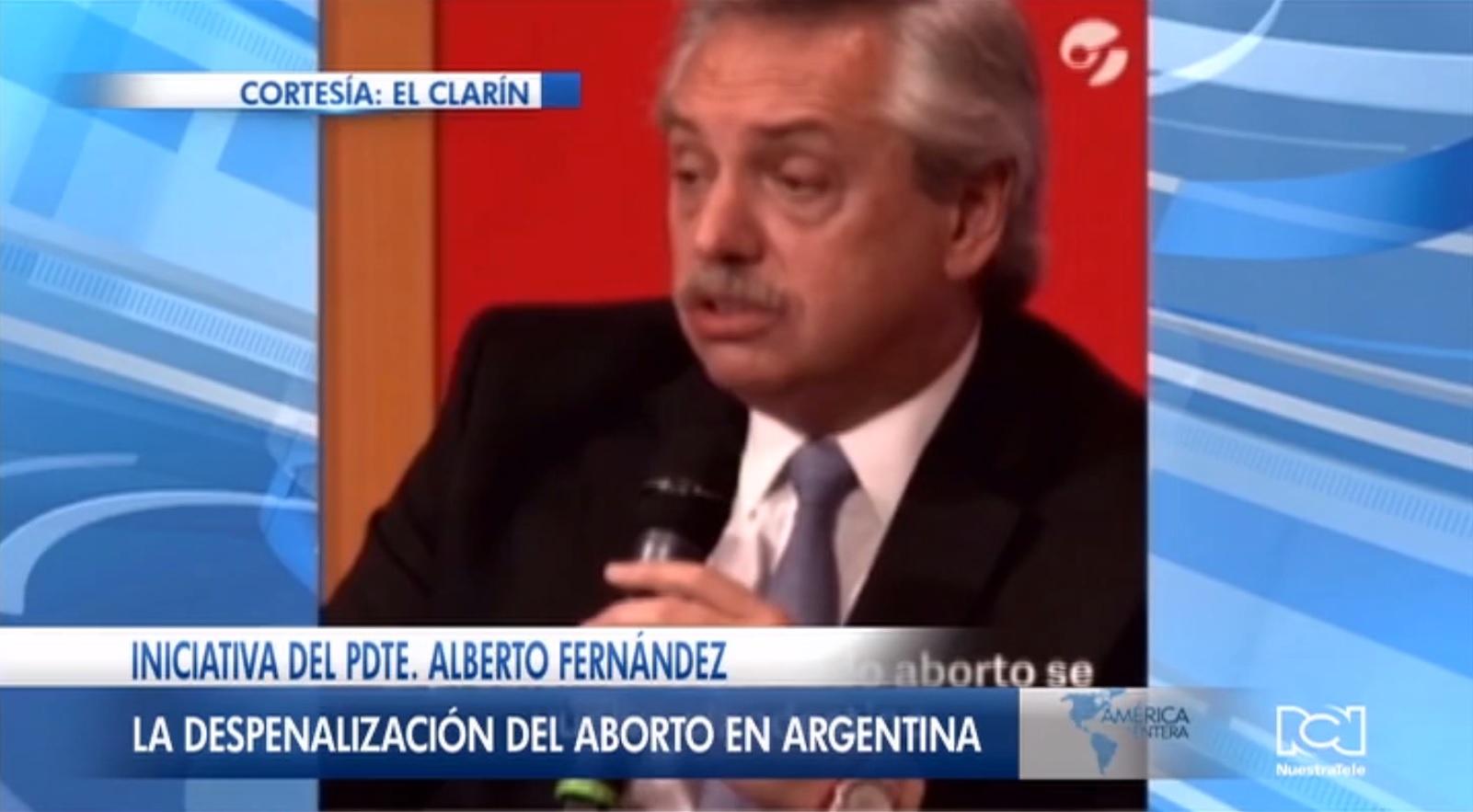 Alberto Fernández condena la hipocresía y anuncia proyecto de ley para despenalizar el aborto en Argentina