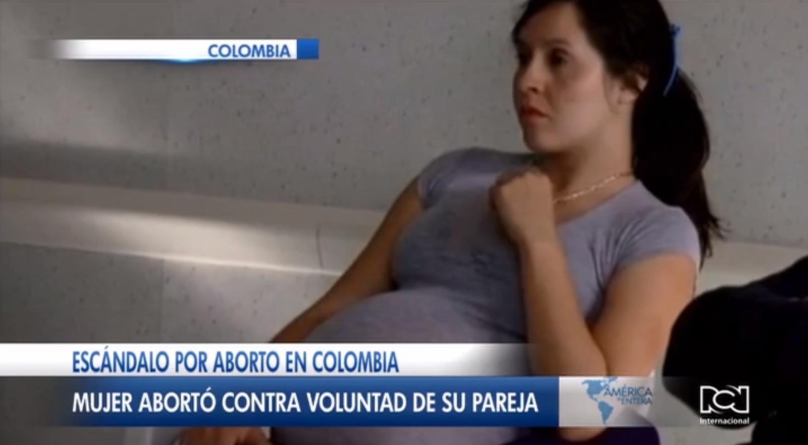 Joven colombiano denunció que su expareja abortó con siete meses de gestación